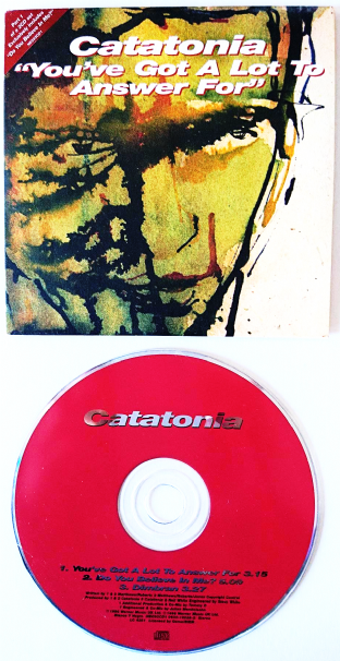 Catatonia ‎- You've Got A Lot To Answer For (CD Single Pt 1) (VG-/EX)